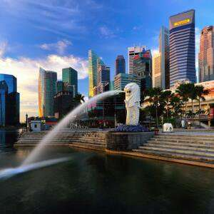 Lufthansa London to Singapore Return Flights with 23kg luggage - Nov/Jan dates £375 via Flight Scout