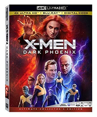 X-men Dark Phoenix 4K Blu-Ray £20 in Sainsbury's