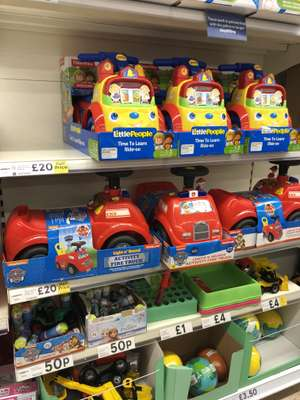 Fisher Price Time to Learn Ride-On - £20 Instore @ Tesco (Dunfermline)