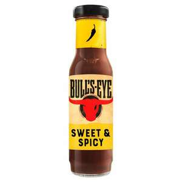 Bullseye Sweet & Spicy Memphis Style 275g - 50p @ Fulton Foods