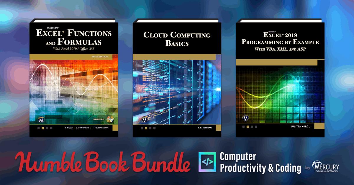 Humble Book Bundle: Computer Productivity & Coding - Python/ C/ Web Design/ Microsoft Office and More 81p Onwards @ Humble Bundle