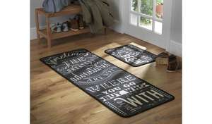 Argos Home - Great Adventure Mat and Runner (Runner L150, W57cm- Mat L57, W40cm. £16.50