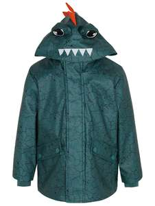 Teal Crocodile Shower Resistant Fisherman Jacket for £4 @ Asda George (Free Click & Collect + More Kid's Offers)