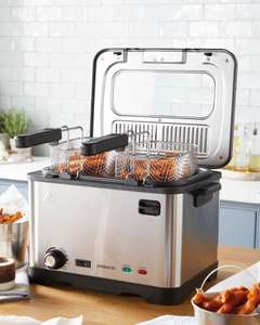 Ambiano 4 Litre Deep Fat Fryer With a 3 Guarantee £24.99 Available to Pre Order & Free Delivery @ Aldi