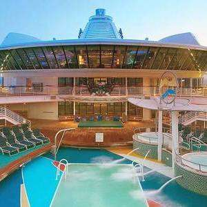 Royal Caribbean Balcony Cabin on Jewel of the Seas Cost for 2 people £398 7 night cruise around Dubai Balcony £1498 including London flights