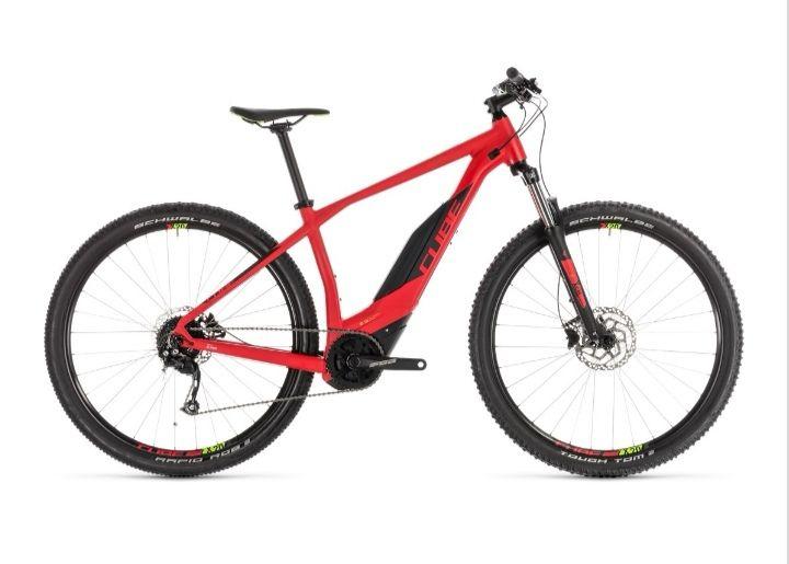 Electric Cube Acid Hybrid One 500 Mountain E-Bike Red/Green £1469.99 @ Rutland Cycling