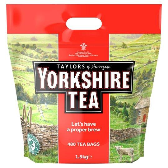 480 Yorkshire Tea bags £9 @ Tesco