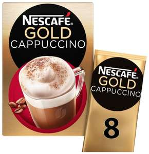 Nescafe gold sachet 8 x 17g ( choice of different flavours) £1.25 @ asda, nationwide