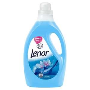 Lenor Fabric Conditioner Spring Awakening Scent 3 Litre, 83 Washes, Pack of 4 £9.97 prime / £14.46 non prime @ Amazon
