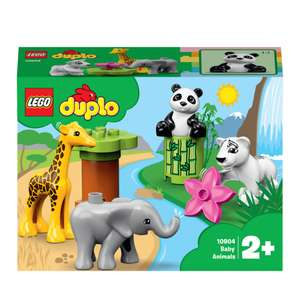 Free Animal Mask Set when you Spend £15.00 On Duplo with Voucher Code @ The Entertainer Toy store