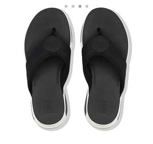 Fitflops SPORTY LOGO Toe-Thongs were £65 now £24.49 delivered sizes 3-8 (4 colours) @ Fitflop