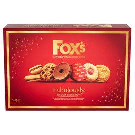 Iceland 7 Day Deal Fox's Fabulously Biscuit Selection 550g £2.50