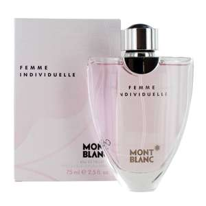 Mont Blanc Femme Individuelle 75ml EDT £22.90 + Free Delivery @  Onbuy / Perfume Plus Direct