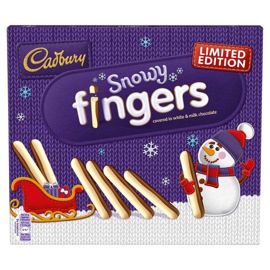 Cadbury Snowy Fingers 230G £1.50 @ Tesco