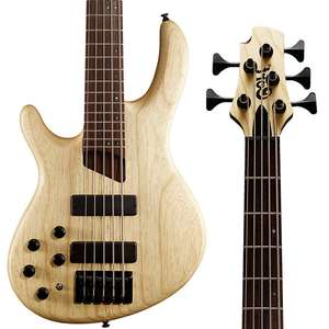 Left Handed - Cort B5 Plus 5 String Bass Guitar - Open Pore Natural £399 Delivered @ Kenny's Music