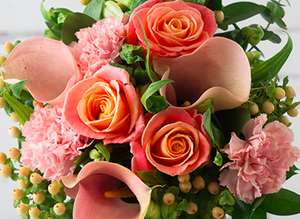 £15 off Bouquets for 24 hours with voucher Code @ Appleyards London