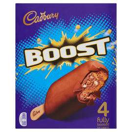 4pk  Cadbury Boost / Dairy Milk or Crunchie  Ice Creams  £1.50 @ Morrisons