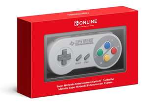 Nintendo Switch SNES Controllers £35.89 delivered @ Nintendo (Last batch of small stock before 2020)