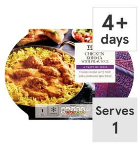 For curry week Tesco are doing 3 single serve curries for £6
