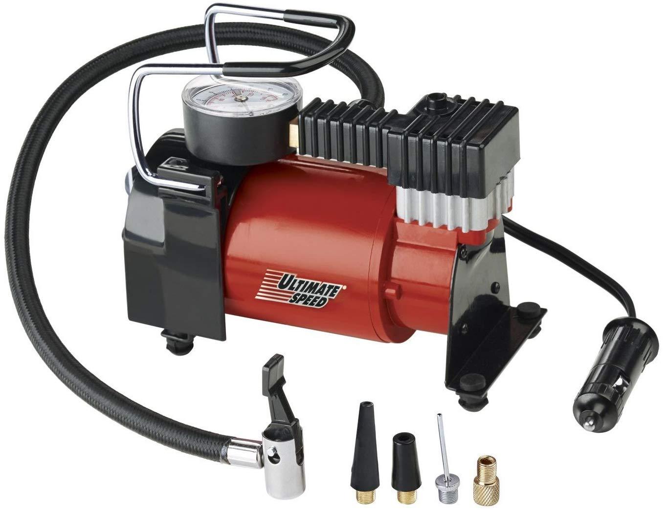 Car/cycle/other tyre compressor pump: Ultimate Speed Mini Compressor UMK10 C2 - Lidl £12.99