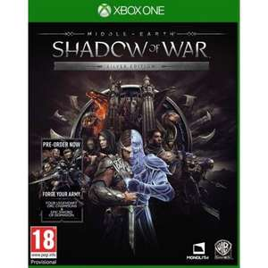 [Xbox One] Middle Earth: Shadow Of War - Silver Edition - £8.95 delivered @ The Game Collection