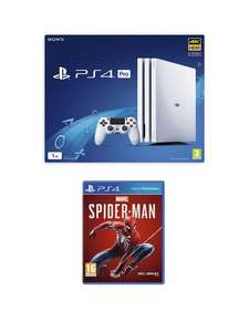 PlayStation 4 Pro 1Tb Console Bundle with Marvel's Spider-Man £319.99 @ Very