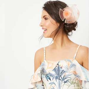 Ladies dress with fascinator reduced to £12 Asda