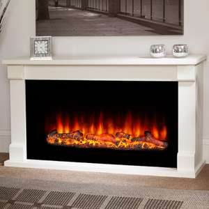 Suncrest 2000W Bradbury Electric Fireplace Suite £470 Delivered @ Homebase