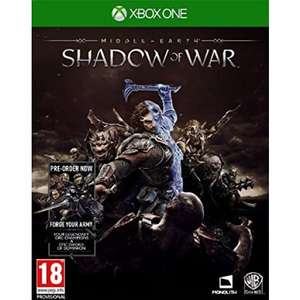 Middle Earth: Shadow of War (Xbox One) for £5.95 Delivered @ The Game Collection