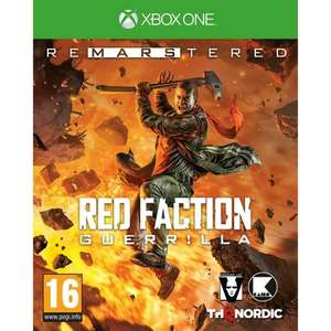 Red Faction Guerilla Re-Mars-tered  (Xbox one) for £10.95 Delivered @ The Game Collection