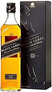 Johnnie Walker Black Label Blended Scotch Whisky 70cl  £20 at Amazon