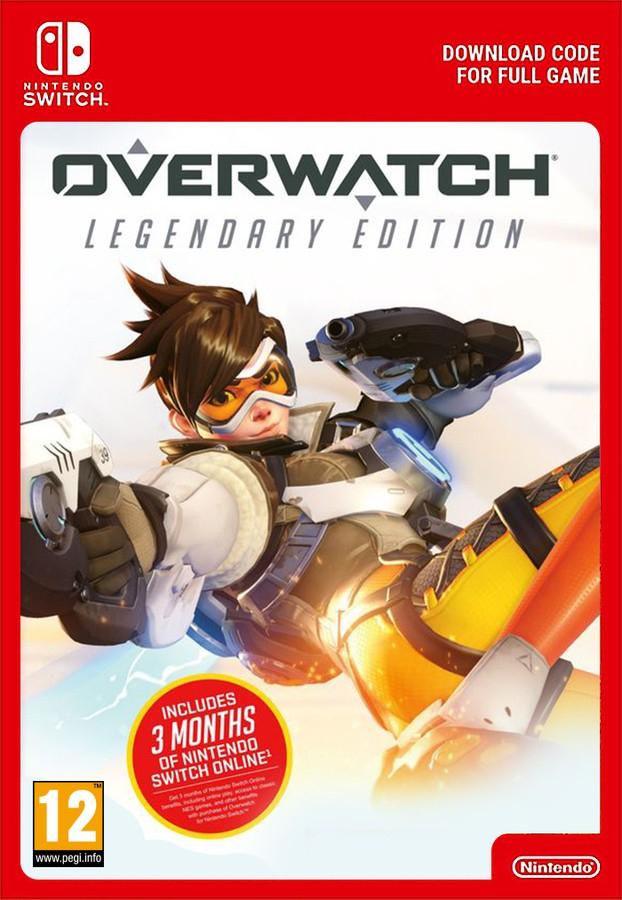 Overwatch Legendary Edition + 3 Months Nintendo Switch Online £23.85 @ Shopto