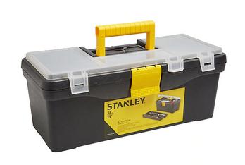 """Stanley Tool Box 15"""" - £2 @ B&Q (Free C&C)"""