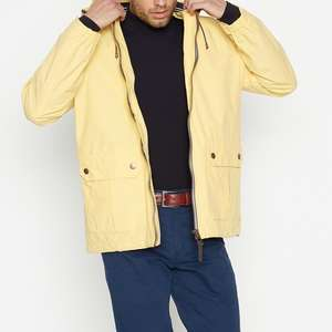 Small Racing Green Yellow Jacket (Cotton Polyamide mix) with Hood - £22.50 @ Debenhams (+£3.49 P&P)