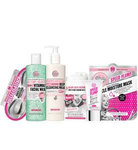 Soap & Glory Ultimate Bundle for £27.30 (With Code) at Boots - Free C&C