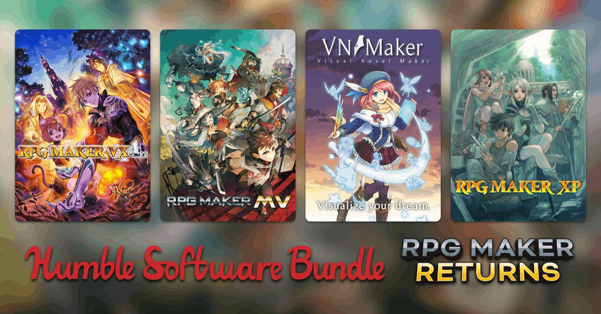 Humble Software Bundle : RPG Maker Returns 81p Onwards @ HumbleBundle