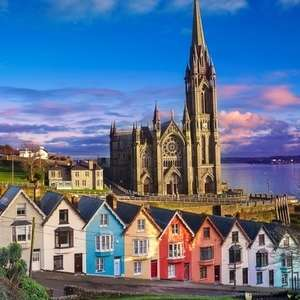 Stansted to Cork, Ireland, £10 return with Ryanair on various dates early Nov