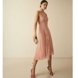 Reiss Asymmetric Lace Dress - £60 Delivered @ Reiss