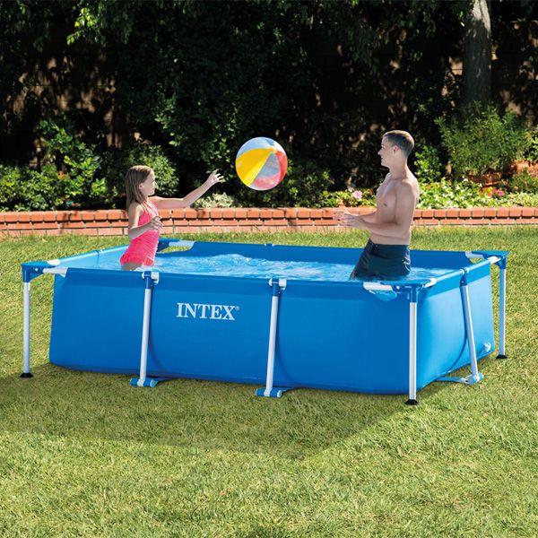 Intex Frameset Swimming Pool (Rectangle) 2.6 x 1.6 mtr (65cm deep) - £30.02 With Code @ Euro Car Parts