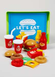 Kids Food Play Set (25cm x 19cm x 6cm) £5 @ Matalan