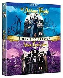 The Addams Family / Addams Family Values: 2 Movie Collection [Blu-ray] - Region Free - £9.72 delivered @ WowHD