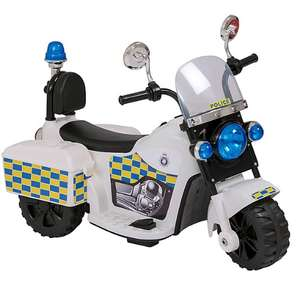 6V Battery Powered Police Trike - £35 + Free Click & Collect @ ASDA George