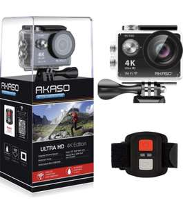 AKASO EK7000 4K Sport Action Camera Ultra HD Camcorder 12MP WiFi Waterproof Camera £31.99 Sold by AKASO-EU and Fulfilled by Amazon.