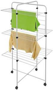 Argos Home Small Tower 20m Indoor Clothes Airer - £15 + Free Click & Collect @ Argos
