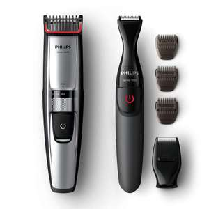 Philips Series 5000 Beard and Stubble Trimmer + Precision Multi Groom Styler - £39.99 @ Amazon
