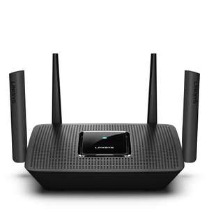 Linksys MR8300 AC2200 Tri Band Mesh WiFi Router, Works with Velop Whole Home WiFi System,  USB 3.0 Port £99.99 @ Amazon