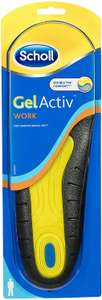 Scholl Gel Insoles for Men for Work, One Pair, Men's UK Shoe Size 7-12  £7.82 + £2.99 delivery Non Prime  @ Amazon
