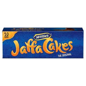 Mcvitie's Jaffa Cakes 10 Pack  only 50p @ Tesco