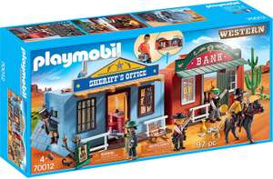Playmobil 70012 Western Take Along Western City  £19.99 (Prime) / £24.48 (non Prime) at Amazon