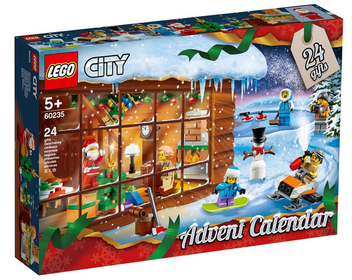 LEGO 60235 City Advent Calendar 2019 £17.59 (Prime) / £22.08 (non Prime) at Amazon